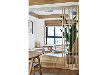 130平米三室一厅日式风格阳光房设计图