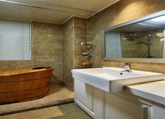 110平米三室一厅中式风格卫生间图