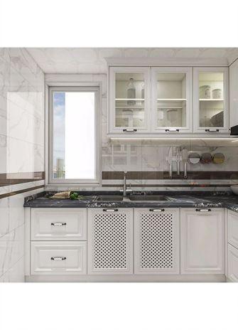 120平米四田园风格厨房设计图