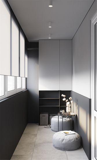 90平米现代简约风格阳台效果图