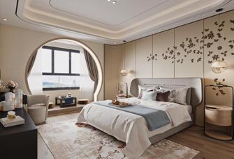 140平米四室五厅中式风格卧室图片