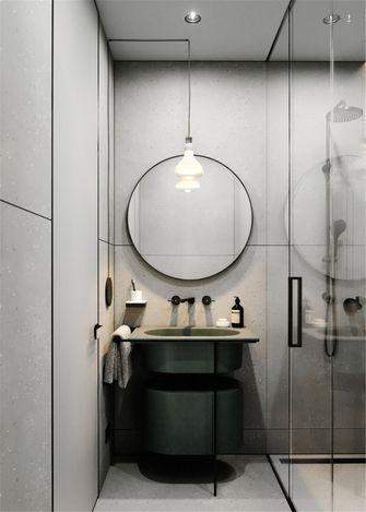 50平米一室一厅现代简约风格卫生间装修案例