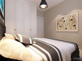 90平米现代简约风格卧室背景墙设计图