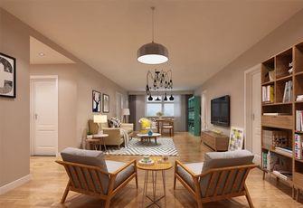 120平米四室两厅日式风格客厅装修图片大全
