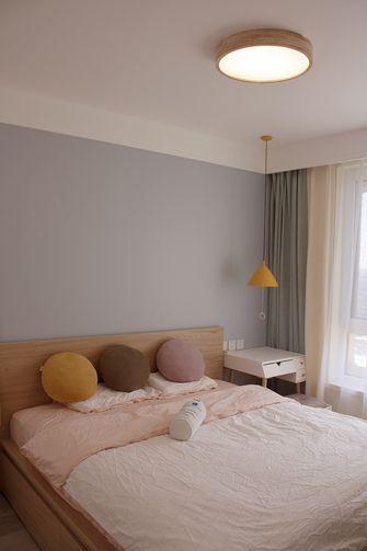 3-5万80平米一室一厅宜家风格卧室图