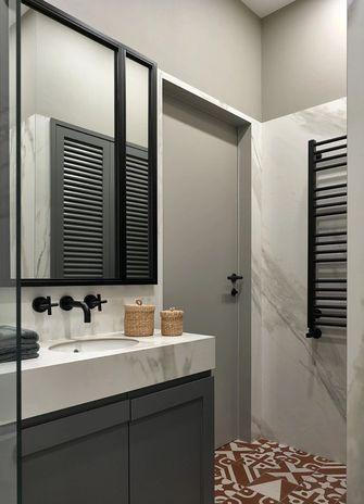 60平米一室一厅现代简约风格卫生间欣赏图