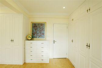 120平米三室两厅田园风格衣帽间图片
