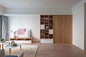 現代簡約風格客廳圖片