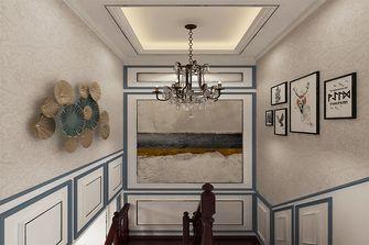 140平米复式新古典风格楼梯间装修效果图