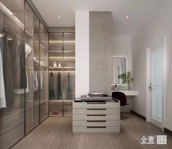 140平米四室三厅现代简约风格衣帽间装修图片大全