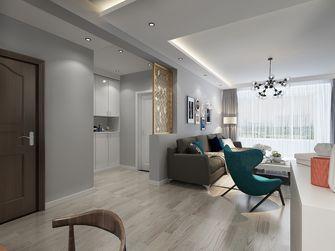 110平米三室两厅现代简约风格走廊装修图片大全