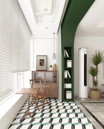110平米三室一厅欧式风格阳台设计图