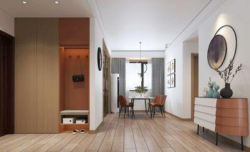 120平米三室两厅北欧风格玄关图片大全