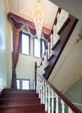 20万以上140平米别墅法式风格楼梯图