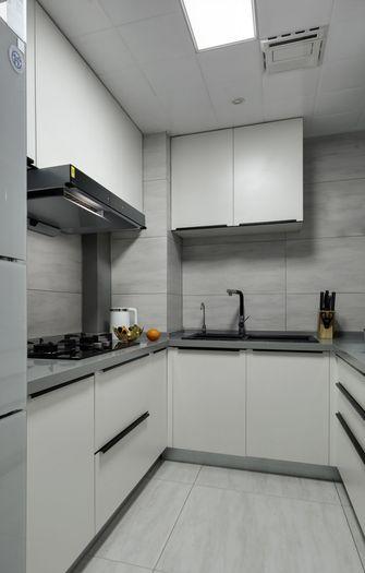 90平米三北欧风格厨房图