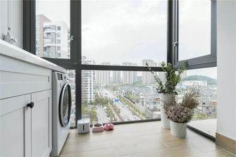 80平米复式北欧风格阳台欣赏图