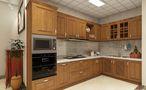 100平米公寓中式风格厨房设计图