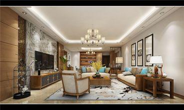 130平米四室一厅中式风格客厅装修效果图
