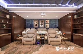 110平米三室两厅其他风格影音室装修效果图