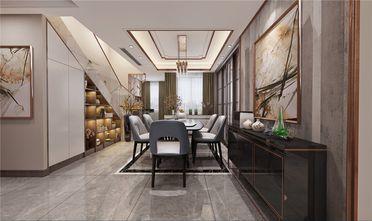 140平米四室五厅现代简约风格餐厅欣赏图