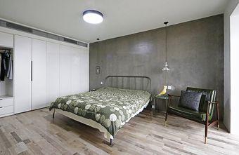 140平米一居室混搭风格卧室欣赏图