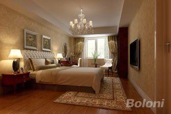 140平米复式田园风格卧室欣赏图