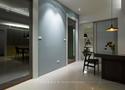 富裕型110平米三室五厅现代简约风格走廊设计图