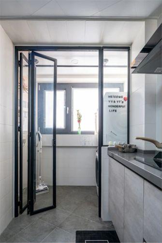 110平米三室两厅法式风格厨房设计图