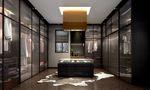 20万以上140平米别墅现代简约风格衣帽间装修图片大全