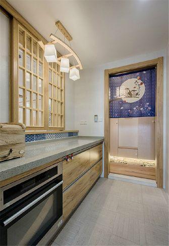 100平米三室两厅日式风格厨房图片大全