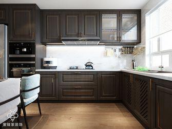 80平米公寓中式风格厨房图片大全