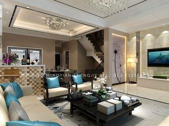140平米别墅现代简约风格客厅沙发装修图片大全