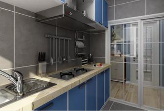 60平米地中海风格厨房设计图