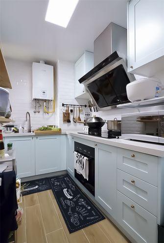 70平米田园风格厨房效果图