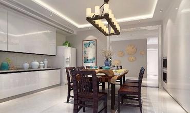 140平米三室两厅新古典风格餐厅欣赏图