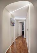 60平米一居室混搭风格走廊装修图片大全