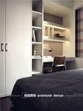 经济型80平米三室五厅现代简约风格卧室装修案例