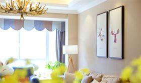 120平米四室兩廳混搭風格客廳欣賞圖