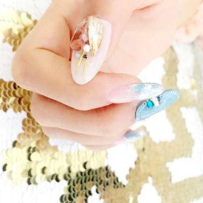 来自星空的微笑2012的美甲图