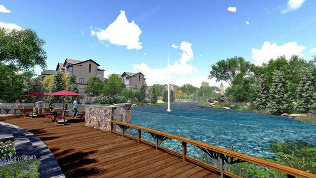 龍門南昆山雅拉·保利錦鯉溫泉度假別墅坐落在風景